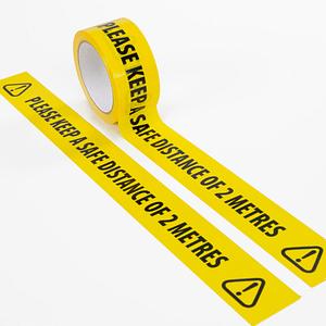 Social Distance Floor Marking Tape Keep A Safe Distance