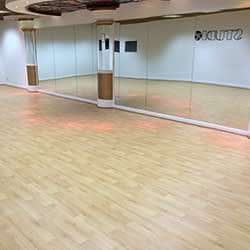 Wood Effect Vinyl Dance Floor