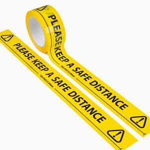 Social Distance Keep a Safe Distance Floor Marking Tape