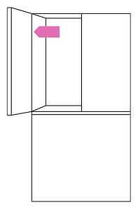 LG fridge freezer serial number location