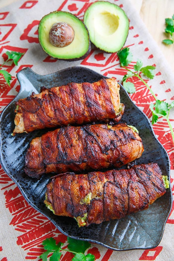 Bacon Day - Recipes - Appliance City - Bacon Wrapped Guacamole Stuffed Chicken