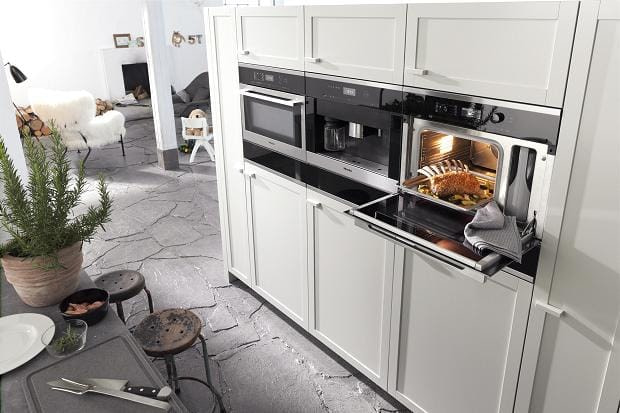 £500 Cashback on Miele built-in appliances