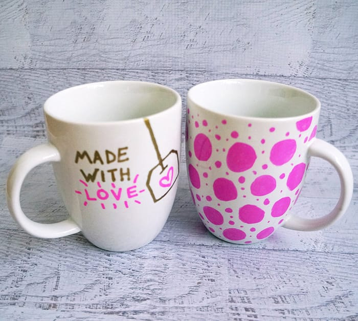 DIY Handmade Gifts - Personalised Tea Mugs - Appliance City