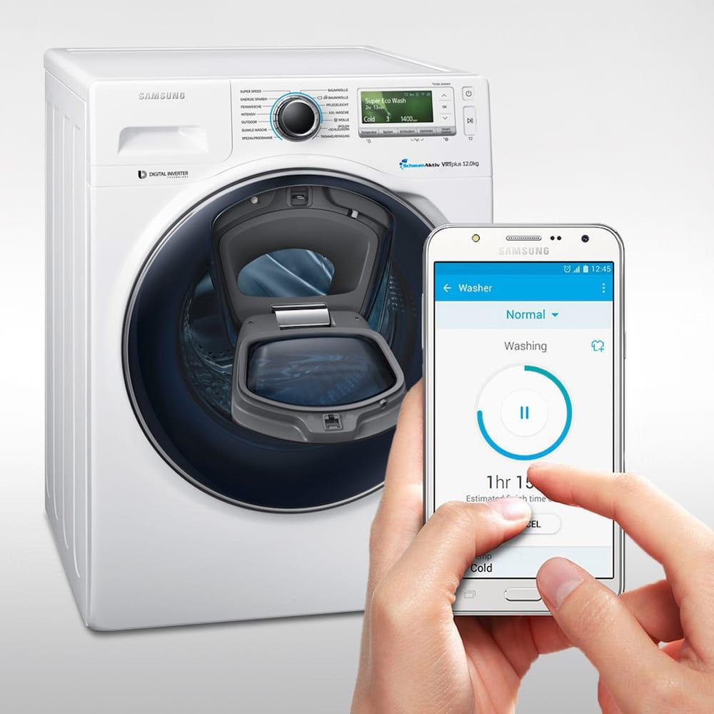 The Samsung AddWash Smartphone technology