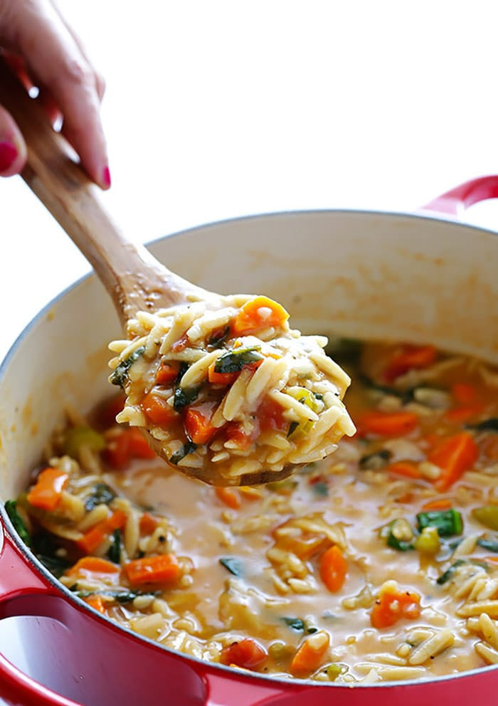 Italian Orzo spinach soup - recipes - appliance city