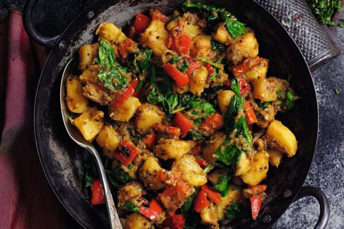 Appliance City - Recipes - Spicy Saag Aloo