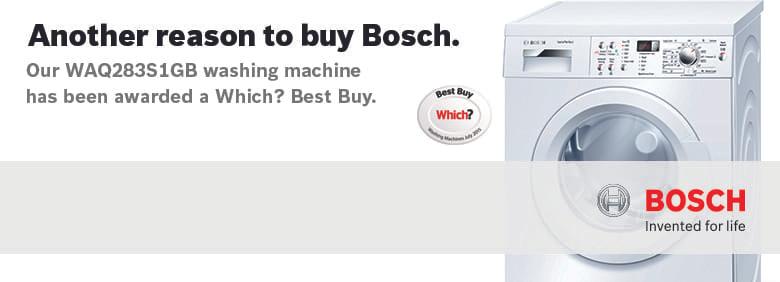 Which? Best Buy Bosch Washing Machine