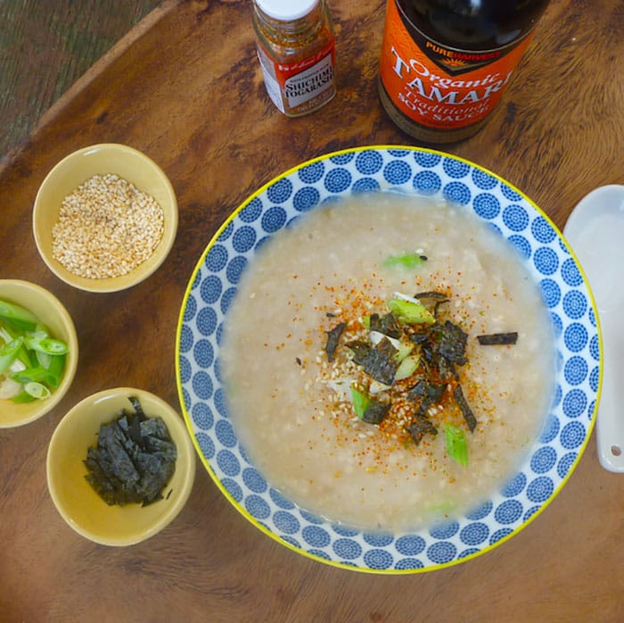 Appliance City - World Porridge Day - Congee Recipe