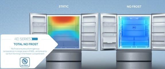 NEW Haier 4D Series 100 - 4DS100 Fridge Freezer | Total No Frost
