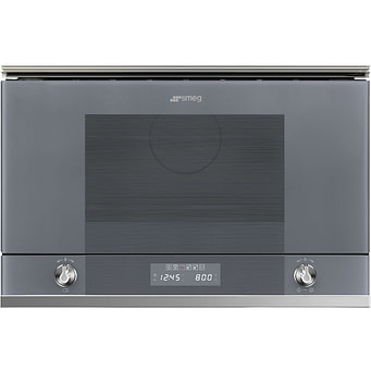 Smeg Linea Microwave Oven with Grill