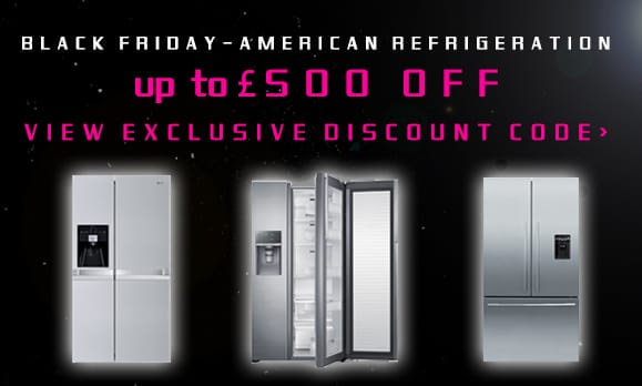 BLACK FRIDAY! American Fridge Freezers | Appliance City 28th November -1st December 2014