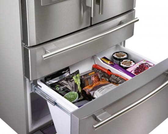 Rangemaster RDXD910SS/C - French Style Fridge Freezer With Ice & Water | Appliance City