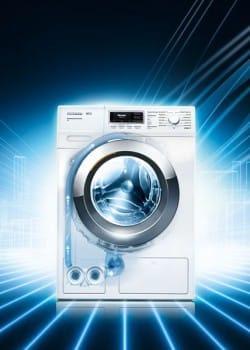 Miele WKF120 8kg W1 Washing Machine 1600rpm | Appliance City
