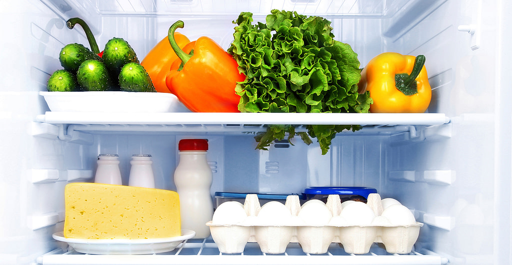 Clean and Odourless Fridge