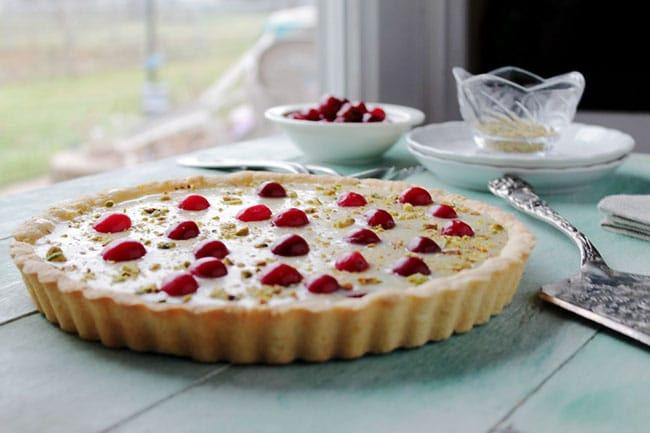 Appliance City - Recipes - White Chocolate Cranberry Tart