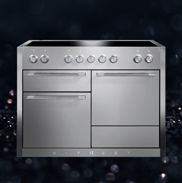 Mercury 120cm wide induction range cooker