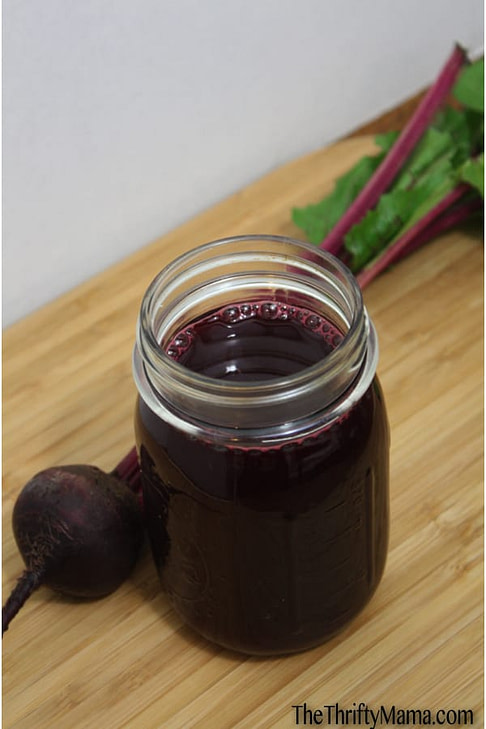 Purple rain juice
