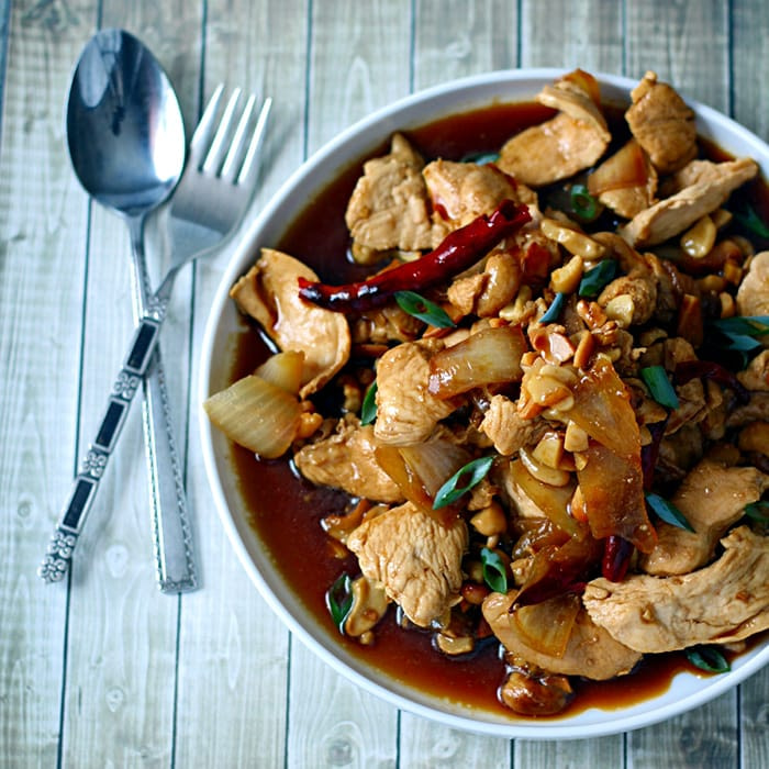 Appliance City - Recipes - Thai Chicken with Cashews