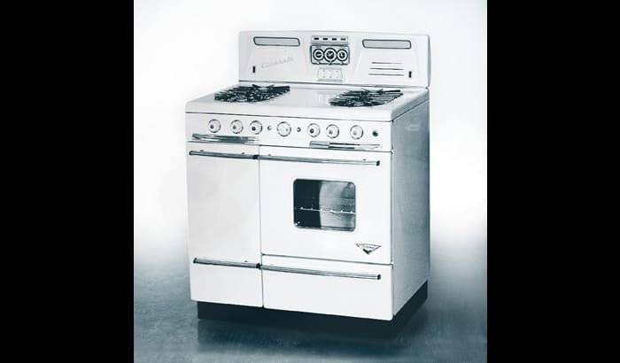 Smeg's earliest gas cooker - late 1950s