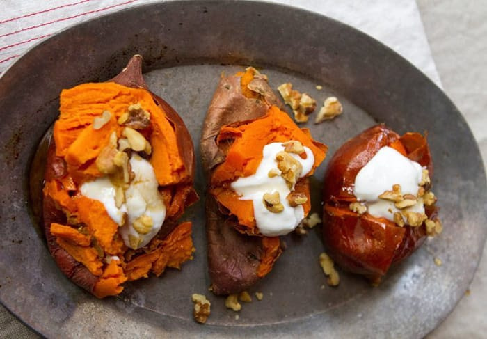 Appliance City - Recipes - Sweet Potato with Yogurt and Nuts