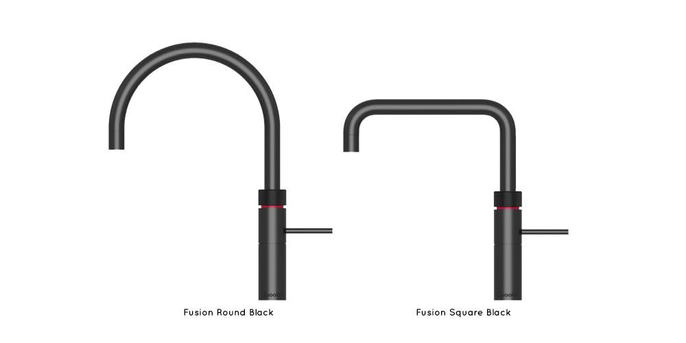 Quooker Fusion Black taps