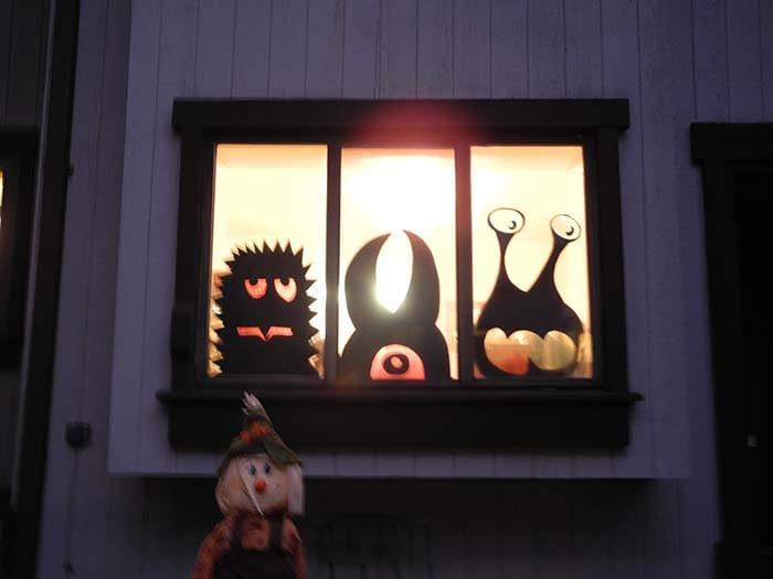 Window Monsters - DIY -Decor