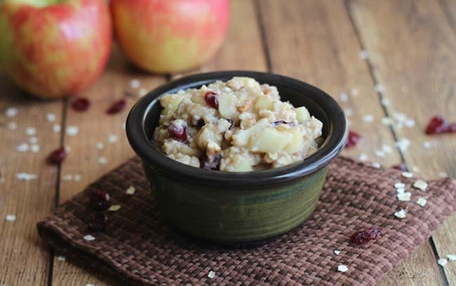 Apple Pie Oatmeal - Appliance city - Apple Recipes