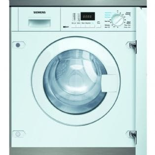 Trade In Promotion - Save £100 on the Siemens WK14D320GB - 6kg IQ-300 Fully Integrated Washer Dryer | Appliance City