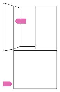 Samsung fridge freezer serial number location