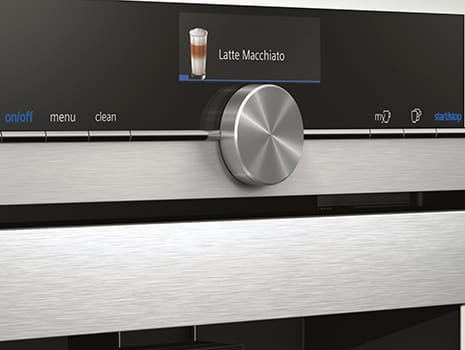 The new iQ700 Coffee Centres with TFT Touchdisplay from Siemens | Appliance City