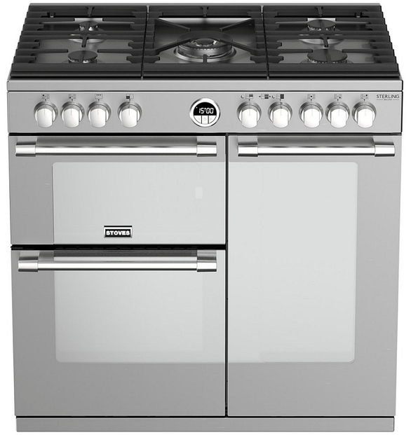 Understated elegance: Stoves Richmond DX S900DFBK