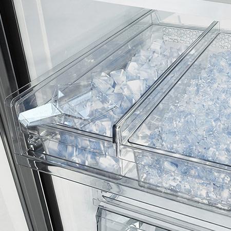 Fridge freezer beverage centre