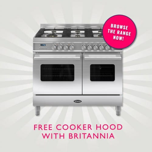 FREE Cooker hood with Britannia Range Cooker & up to 15% OFF | Appliance City Big Summer Sale Event