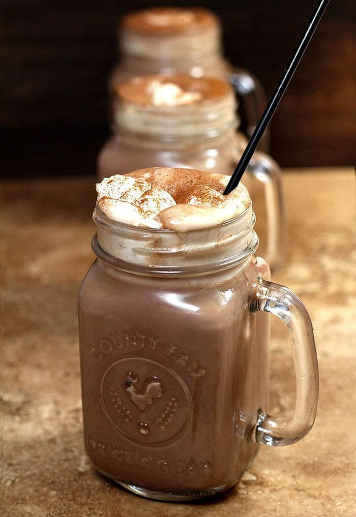 NYE 2015 - cocktails and hangover cures - mexican hot chocolate with tequila - recipes - appliance city