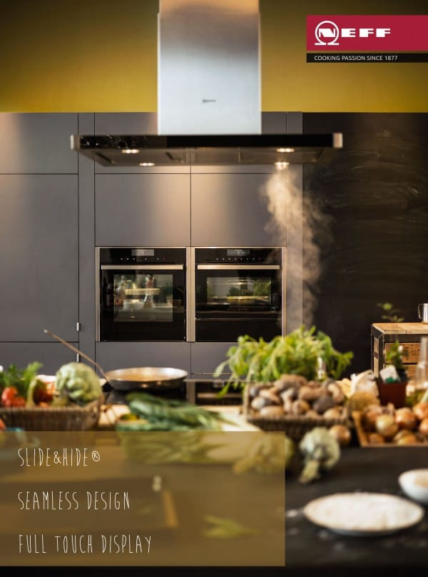 Slide&Hide | Seamless Design | Full Touch Display The New Neff Built-In Oven - New Oven Big Ideas Launching Spring 2015 | Appliance City