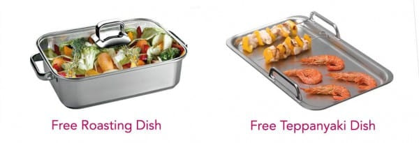 Free Roasting Dish or Teppanyaki Plate with selected Siemens Hobs | Appliance City