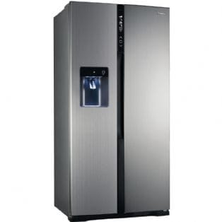Panasonic NR-B53V2-XB - American Style Fridge Freezer With Ice & Water