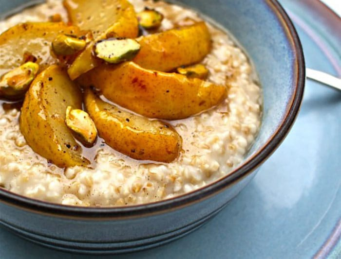 Appliance City - World Porridge Day - Roasted Pear Porridge