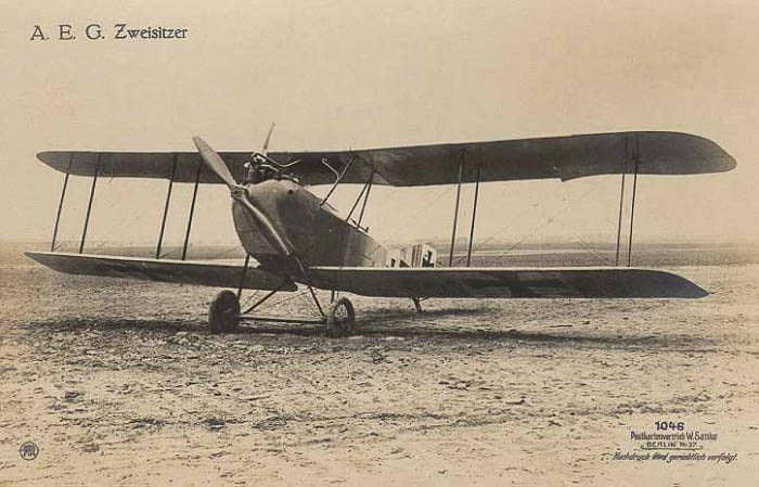 AEG Aeroplane