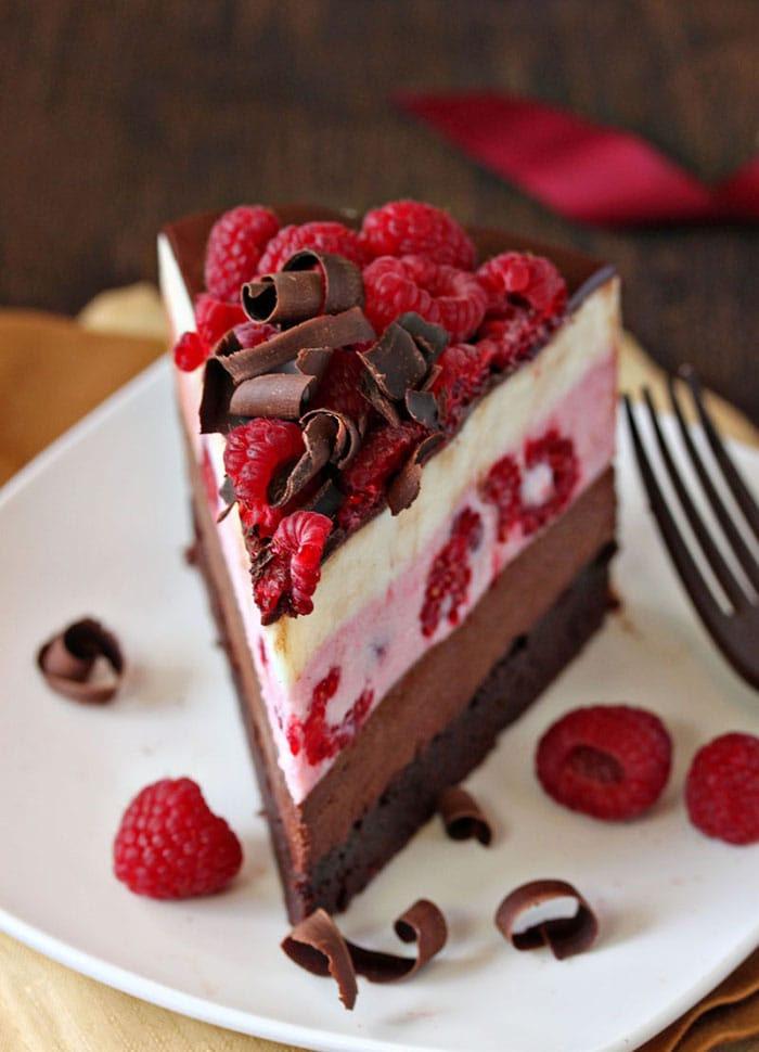 Appliance City - National Chocolate Week - Chocolate Raspberry Mousse Cake - Recipe