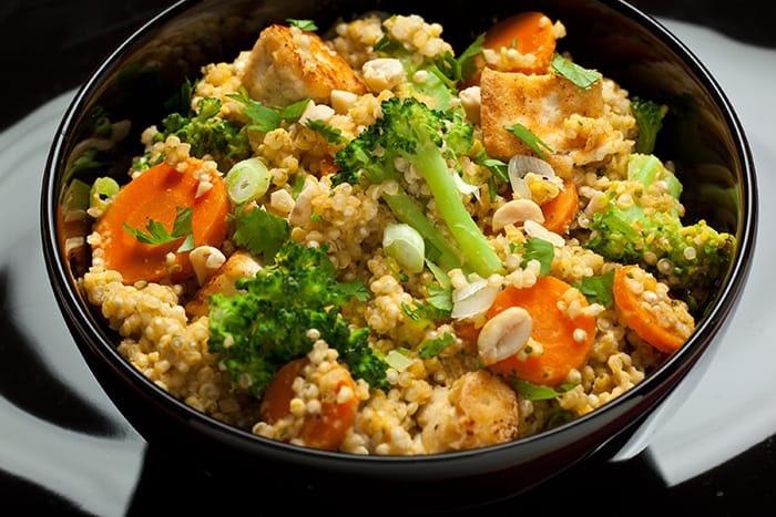 Spicy Thai Coconut Quinoa Salad - Vegan Recipes - Appliance City