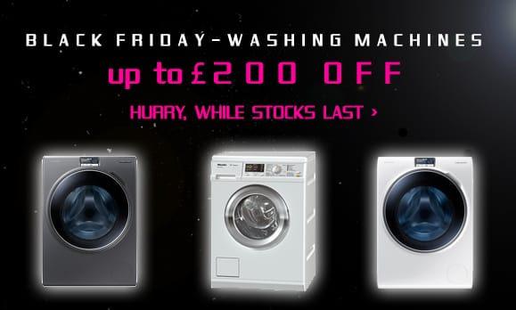 BLACK FRIDAY! Laundry Appliances | Appliance City 28th November -1st December 2014