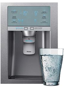 Samsung RF24HSESBSR - French Style 4 Door Fridge Freezer Ice & Sparkling Water