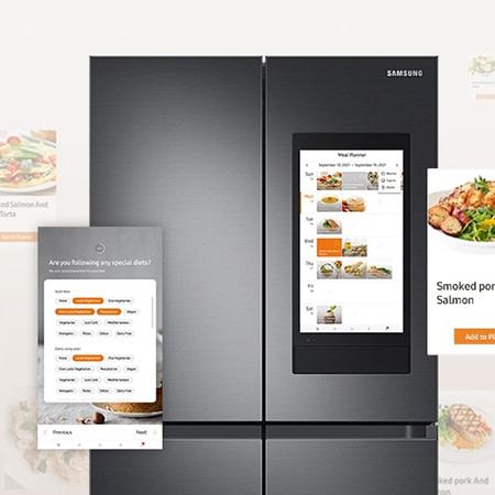 Smart fridge meal plans