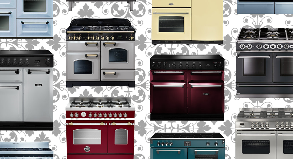 All The Colours of Range Cookers