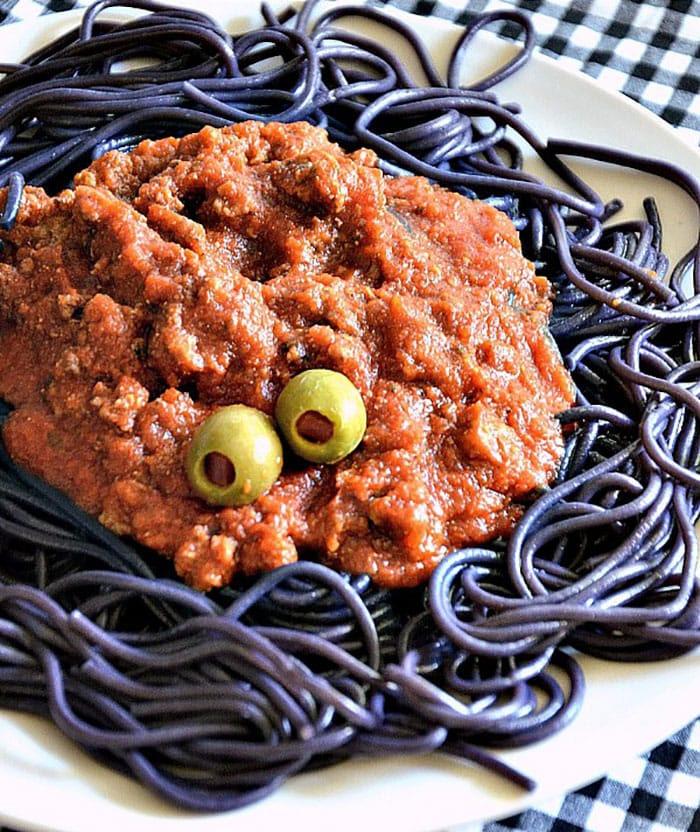 Appliance City - Recipes - Halloween Spaghetti