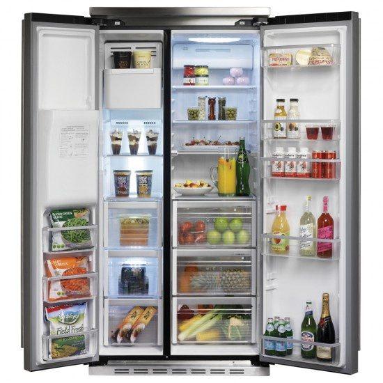 Falcon FSXS628BLC - American Style Fridge Freezer Ice & Water | Appliance City