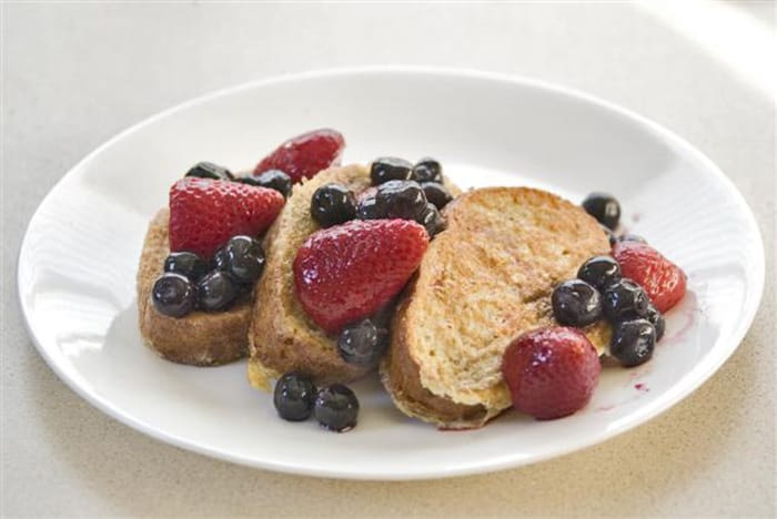 Slim Down for the Holidays - Recipes - Healthy French Toast - Appliance City