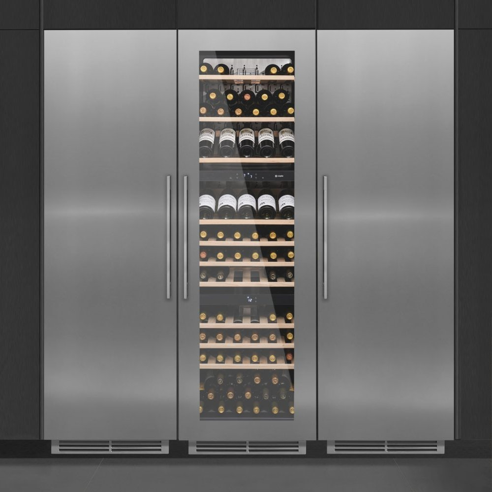Caple Wc1792 Pack Wine Cooler Fridge And Freezer Pack Stainless Steel Appliance City
