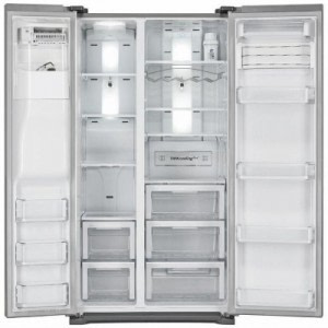 samsung american fridge freezer open